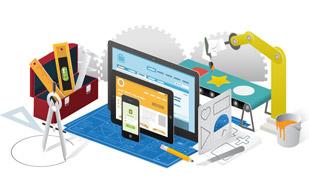 web digital about us Website development