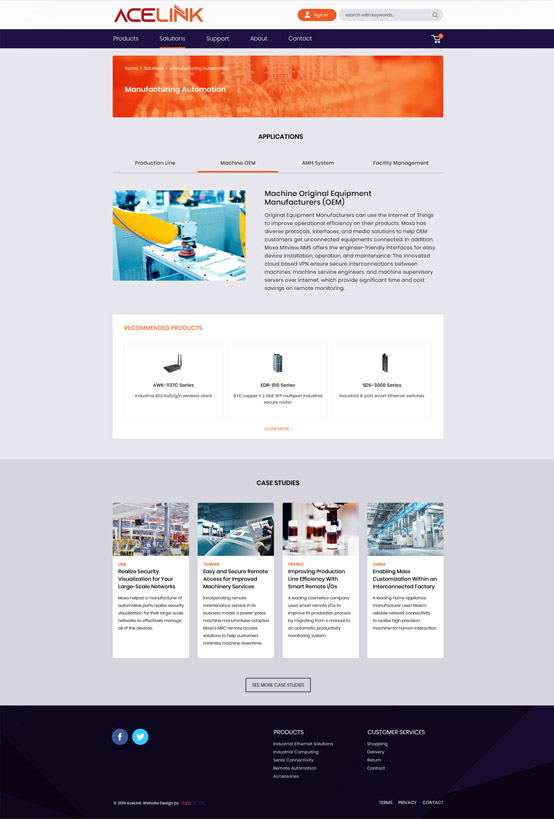 Web Design Acelink