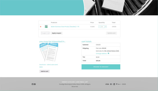 billing details prestige