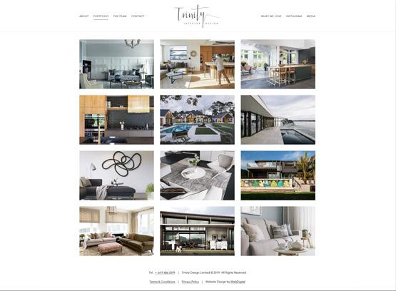 trinity portfolio web digital